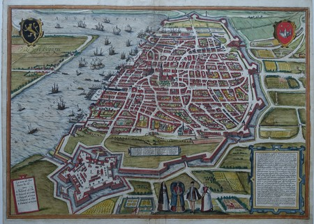 Belgium. Antwerp. Bird's-eye view