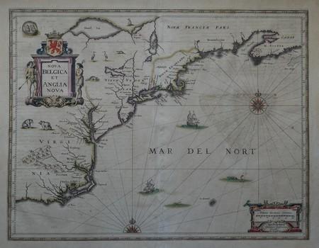 North America. New England. New Netherland.