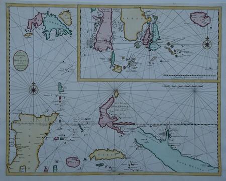 Indonesië. Molukken.