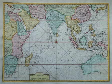 Australië. Zuidoost-Azië. Indische Oceaan.