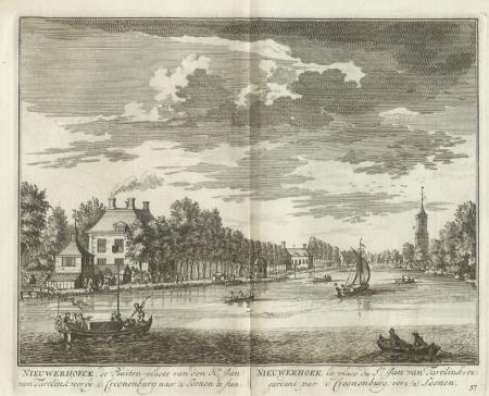 LOENEN. Nieuwerhoek met dorpsgezicht.