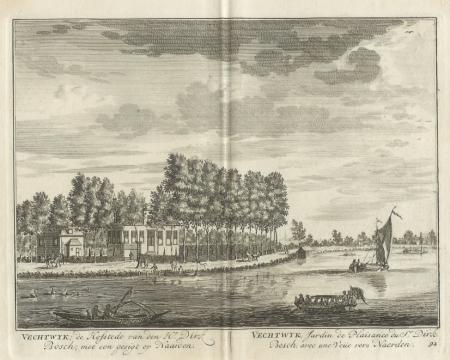 NAARDEN. Hofstede Vechtwijk.