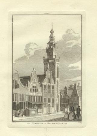 MONNICKENDAM. Stadhuis.