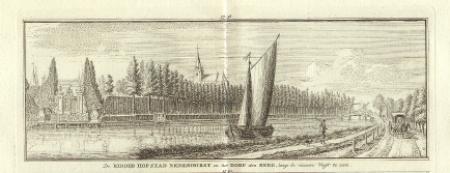 NEDERHORST DEN BERG. Ridderhofstad en dorp.