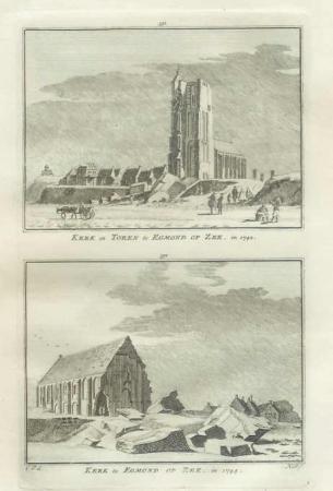 EGMOND AAN ZEE. Kerk en Toren.