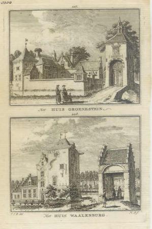 LANGBROEK. Groenestein en Waalenburg.