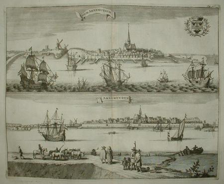ARNEMUIDEN. Oud Arnemuyden en Arnemuyden. Profielgezichten