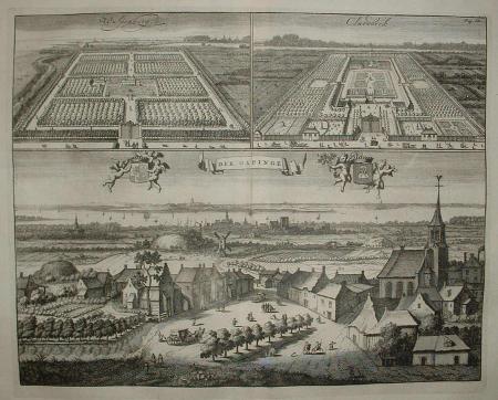 GAPINGE. Gapinge, Klarenbeek en Wulpenburg.