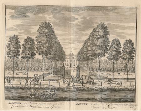 LOENEN. Buitenplaats Chr. van Persyn, heer van Loenen..