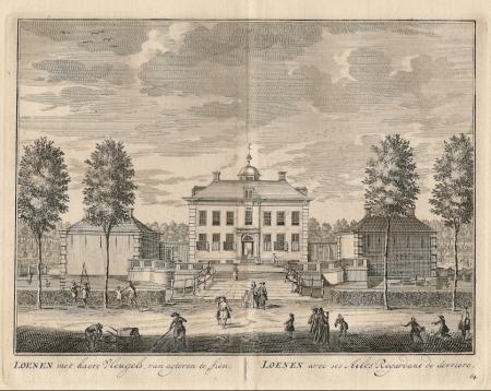 LOENEN. Buitenhuis Loenen.