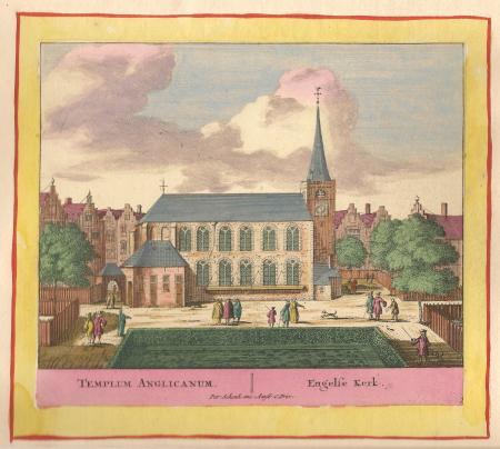 AMSTERDAM. Engelse kerk.