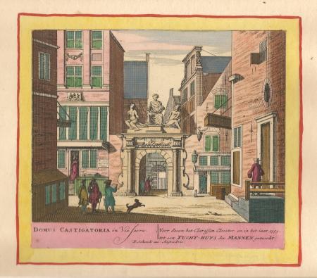 AMSTERDAM. Mannentuchthuis. (Voormalig Clarissen klooster)