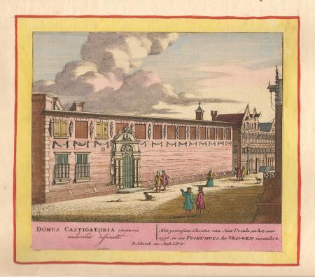 AMSTERDAM. Vrouwentuchthuis. (Sint Ursula klooster)