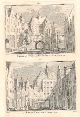 NIJMEGEN. Wimel of Windmolenpoort.