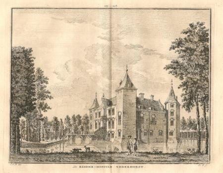 NEDERHORST DEN BERG. Ridderhofstad Nederhorst.