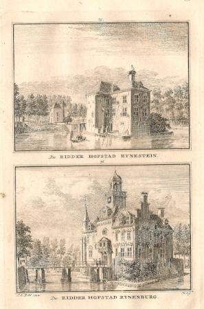 JUTPHAAS (Nieuwegein). Rynestein en Rynenburg.