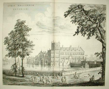 DEN HAAG. Curia Hollandiae Exterior. Buitenhof.