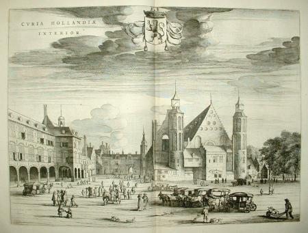 DEN HAAG. Curia Hollandiae Interior. Binnenhof.