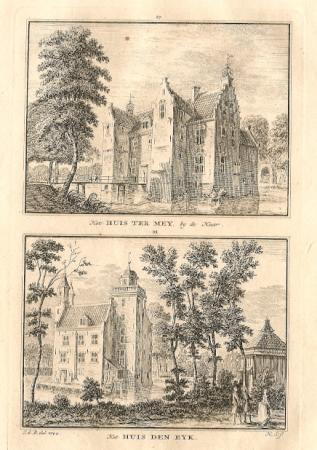 HAARZUILENS. Huis ter Mey en Huis Den Eyk.