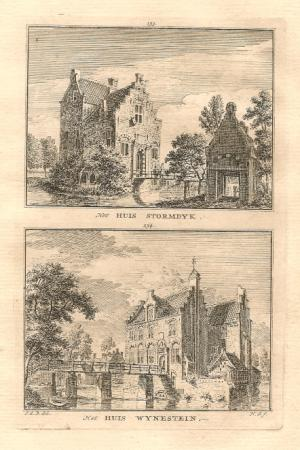 JUTPHAAS (Nieuwegein). Stormdyk en Wynestein.