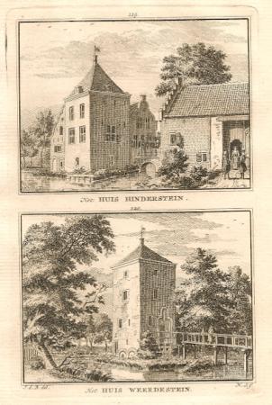 LANGBROEK. Hinderstein en Weerdestein.