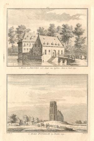 DRUTEN. Huis en dorp Puffelik.