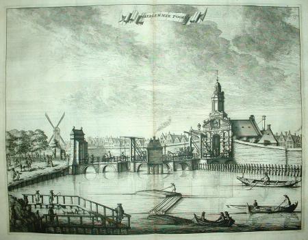 AMSTERDAM. Haarlemmerpoort