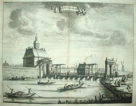 AMSTERDAM. Muiderpoort