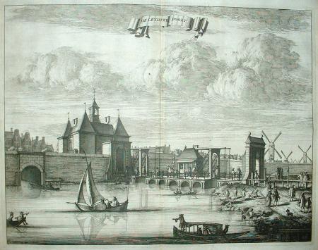 AMSTERDAM. Leidsepoort