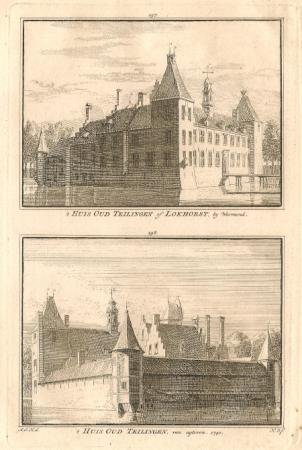 WARMOND. Huis Oud-Teylingen.