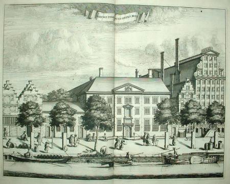 AMSTERDAM. Prinsengracht: Nieuwe zyds huys sitten huys