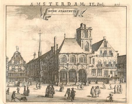 AMSTERDAM. Oude Stadhuis.