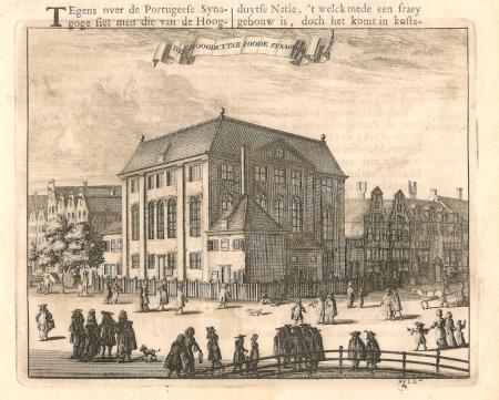 AMSTERDAM. Grote (Hoogduitse) Synagoge.
