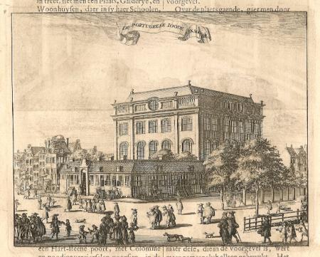 AMSTERDAM. Portugees-Israëlitische Synagoge.