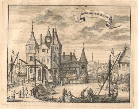AMSTERDAM. Oude Regulierspoort.