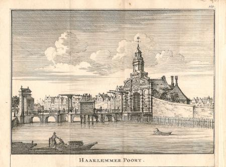 AMSTERDAM. Haarlemmer Poort.
