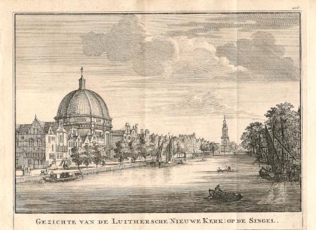 AMSTERDAM. Nieuwe Luthersche Kerk. Singel