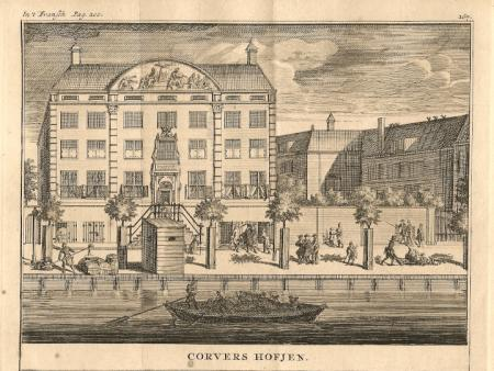 AMSTERDAM. Corvershof. Nieuwe Herengracht.