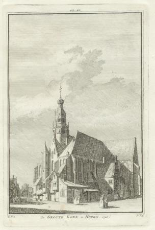 HOORN. Grote kerk.