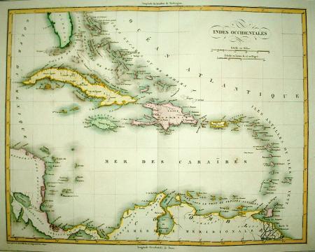 ANTILLEN. Grote en kleine Antillen.
