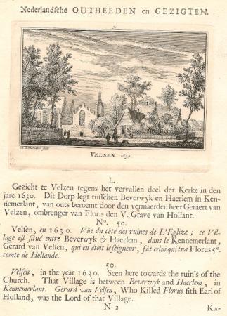 VELSEN in 1630.
