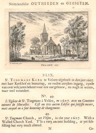 VELSEN in 1617.