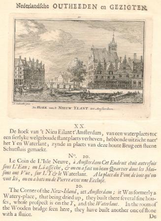 AMSTERDAM. Nieuwe eiland.