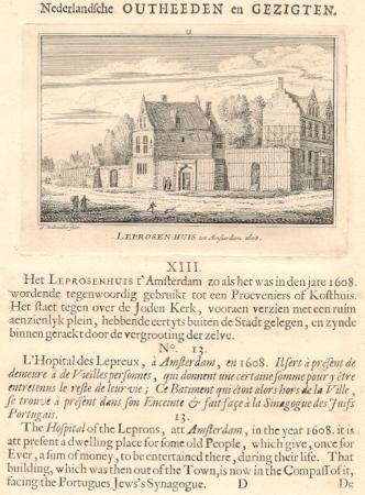 AMSTERDAM. Leprozenhuis.