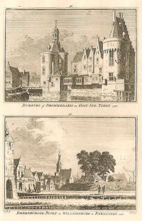 ENKHUIZEN. Domburg en Denenburgerpoort