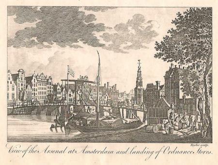 AMSTERDAM. Munttoren en 's-Gravelandse Veer.