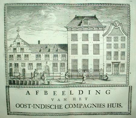 DELFT: VOC. 'Oost-Indische Compagnies Huis.'