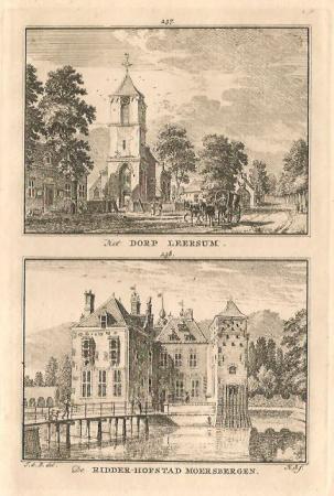 LEERSUM. Dorp Leersum / Moersbergen.