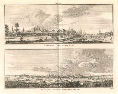 MAASTRICHT. Langs de Maas en van de St. Pietersberg.