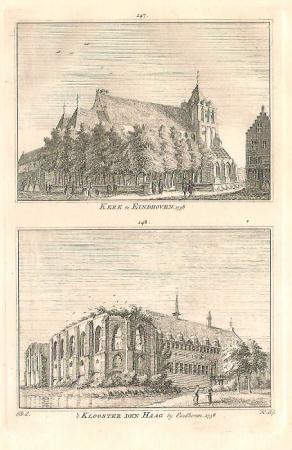 EINDHOVEN. Kerk en klooster.